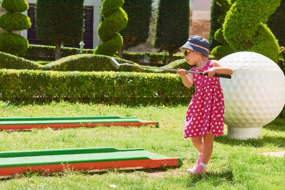 best golf games for kids outdoors