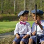 golf games for kids outdoors